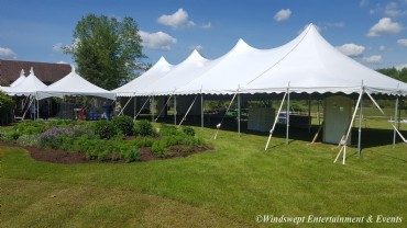 40' x 100' Pole Tent Rental - Windswept Party and Event Rentals - Ligonier Pa