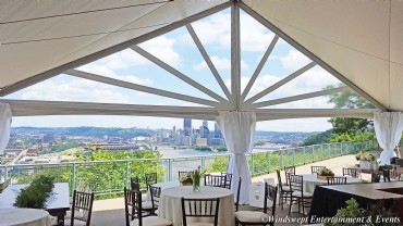 40' Wide JT Structure Tent - Pittsburgh, PA